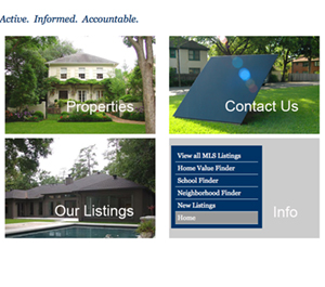 Information Architecture_Home Page Design
